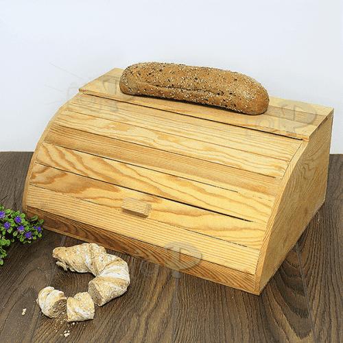 Дървена кутия за хляб 37x26см./кутии за съхранение