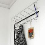 Метална закачалка за врата,шкаф/закачалки за дрехи