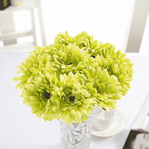 Изкуствено цвете гербер 60см./цветя за декорация