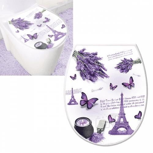 """Капак-седалка за тоалетна чиния """"Lavender""""/WC седалка"""