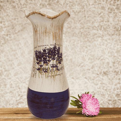 """Керамична ваза за цветя """"Lilac"""""""