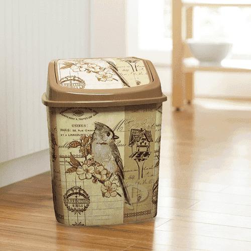 """Кошче за боклук с люлеещ капак 5,5л. """"Spring"""""""