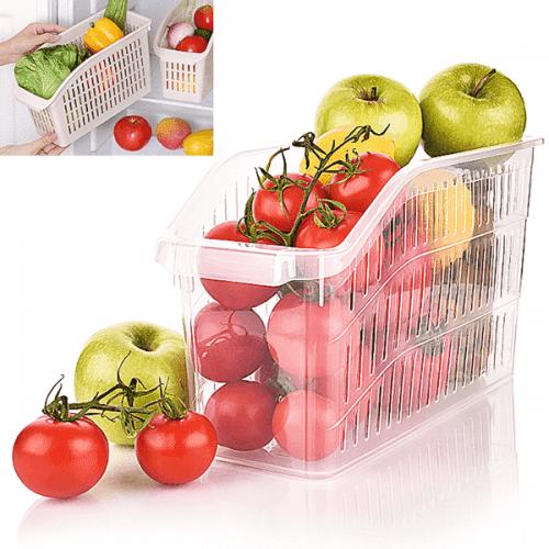 Органайзер-кошница за храна за хладилник,шкаф Hobby Life