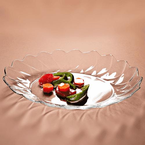 Стъклено плато за ястия/чиния за ордьоври,салати