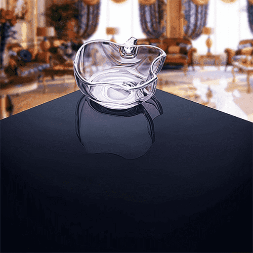 Стъклена купа 19см. Apple/купички за ордьоври