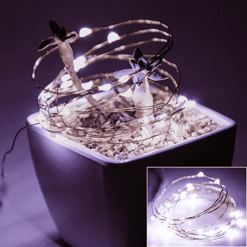 Безжични лампички с батерии за украса/светеща декорация за празници