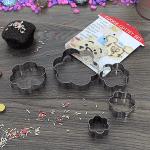 Комплект форми за бисквити и сладки/метални формички за курабии