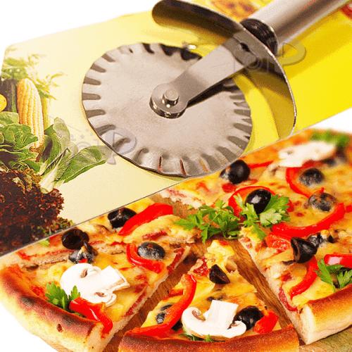 Нож за тесто/нож с въртящо се острие