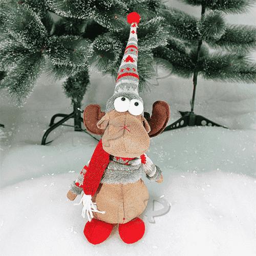 Плюшено Коледно Еленче 40см./играчки за Коледа