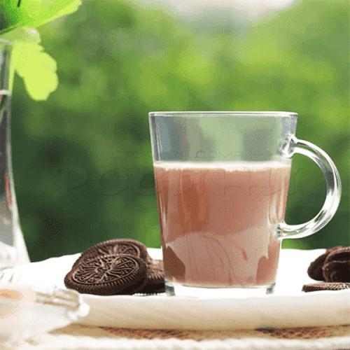 Стъклена чаша с дръжка за кафе,чай,капучино 340мл. Pasabahce