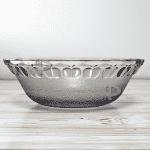 Стъклена купа за салати,ордьоври/салатена купа 22см.