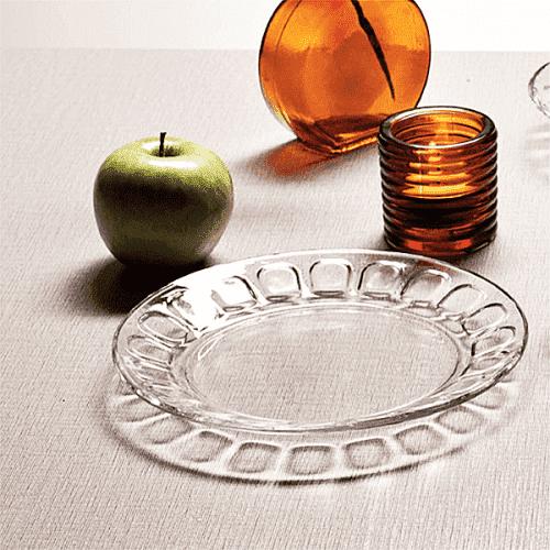 Стъклено плато 33,5см Morvarid/чиния за сервиране