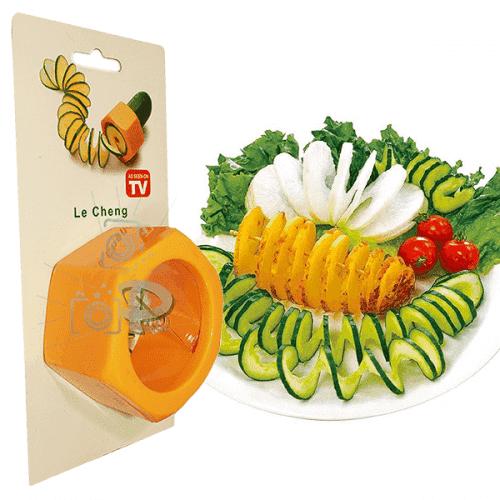 Уред за декориране на салати/ренде за зеленчуци