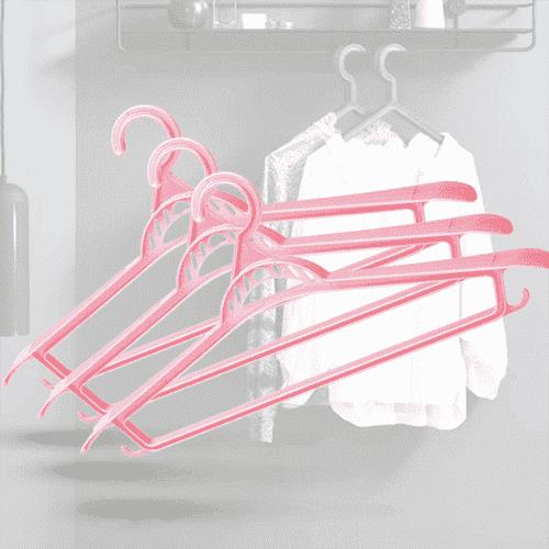 Цветни закачалки за дрехи 3бр./гардеробна закачалка