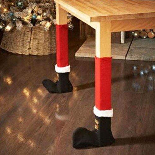 Коледни чорапи за столове и маси 2бр.