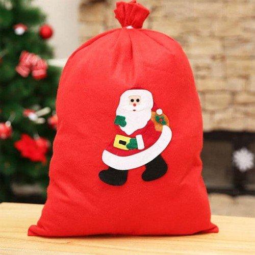 Коледна торба/чувал за подаръци 30см