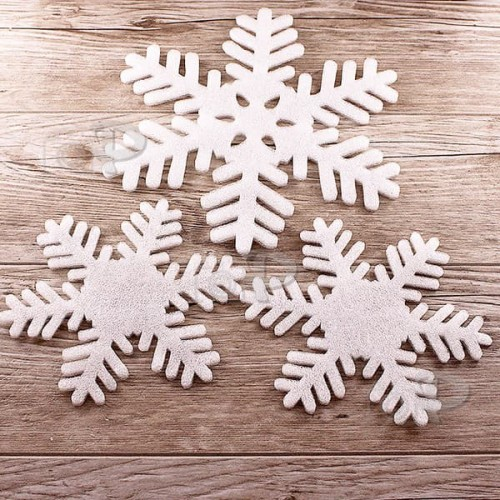 Декоративни,висящи снежинки за украса 5бр.