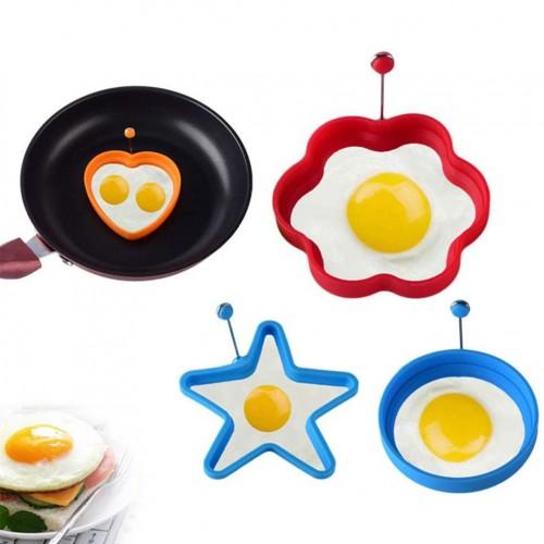 Силиконова форма за яйца и палачинки 1бр./форма за пържене