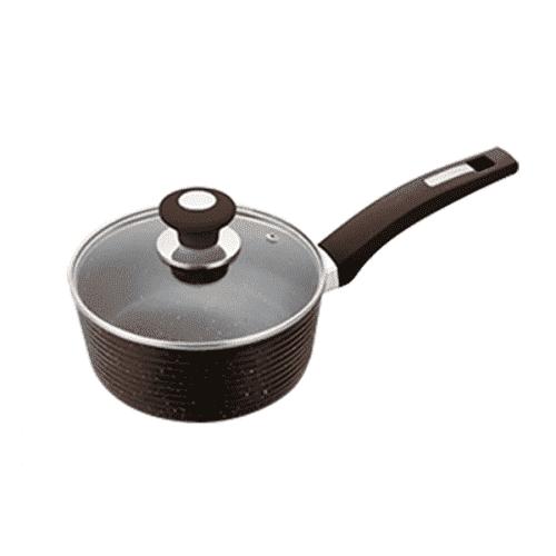 Касерола Ecoline 18см. кафяв цвят/съдове за готвене