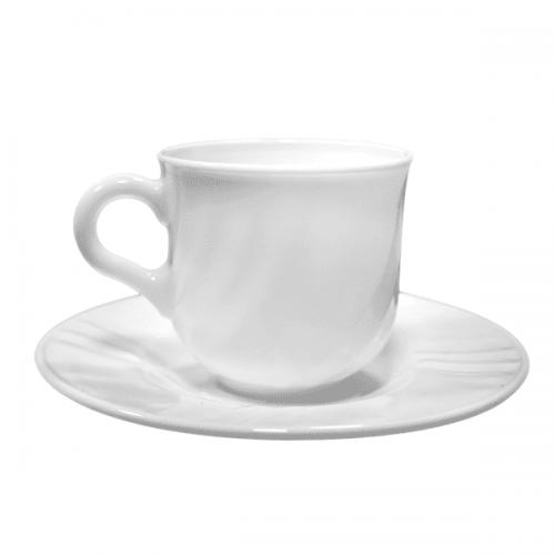 EBRO Сервиз чаши за чай 6бр./ съдове от аркопал