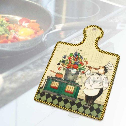 Керамична подложка с дръжка за горещи съдове Cook