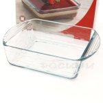 Йенска квадратна форма за печене с релеф 16 см./огнеупорни кухненски съдове
