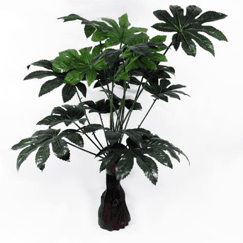 Изкуствено цвете за саксия Аралия/цветя за декорация