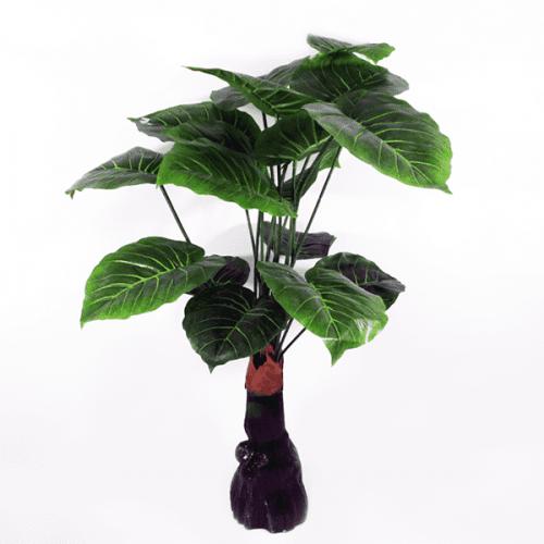 Изкуствено цвете за саксия Калатея/цветя за декорация