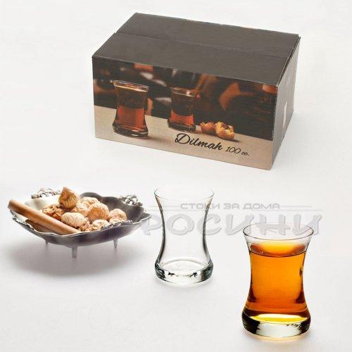 Комплект традиционни чаши за турски чай 100мл./6 бр.