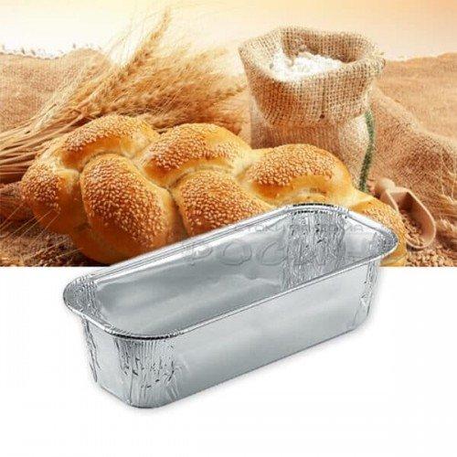 Алуминиева еднократна форма за козунак, руло, хляб 23см.
