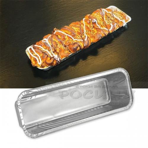 Алуминиева,еднократна форма за козунак,руло,хляб 29см.
