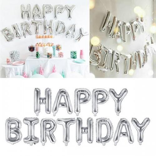 Фолиеви балони надпис Happy Birthday/балон за Рожден ден