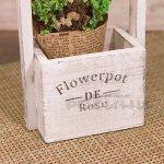Дървено кладенче за декорация Flower