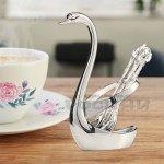 Поставка с лъжици Лебед/комплект чаени лъжички