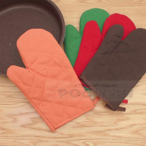Ръкохватка ръкавица за горещи съдове от текстил