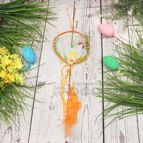 Висулка за украса с кокошка/декорация за Великден