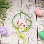 Великденска декорация за закачане Кокошка