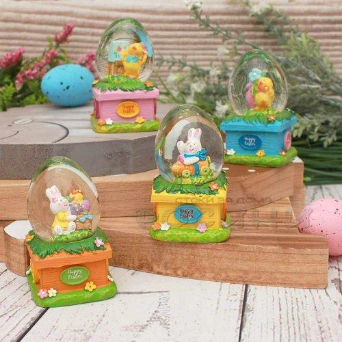 Преспапие Великденско яйце в Градинка/Декорация за Великден