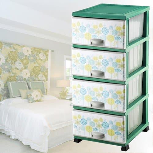 """Пластмасов шкаф за съхранение """"Nature"""" /пластмасови шкафове за дома"""