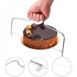 Уред за рязане на блатове за торти/лък за блатове