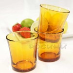DURALEX Сервиз чаши за аперитив 6 бр. 210 мл./Vermeil чаши ниски
