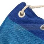 Стол-люлка Бразилски хамак Синьо-зелено райе