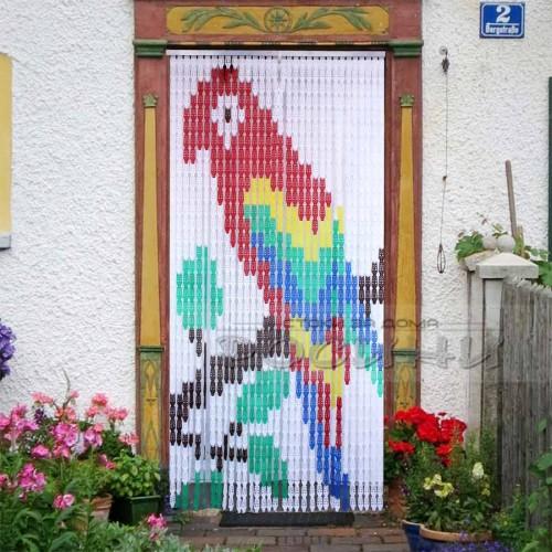 Ресни за врата с цветни фигури