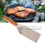 Метална готварска шпатула/шпатула за скара, барбекю, тепаняки