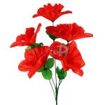 Изкуствен букет китайска роза