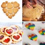 Метални форми Сърце/комплект от 5 броя резци за сладки