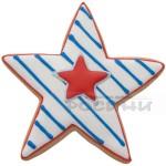 Метални форми Звезда/комплект от 5 броя резци за сладки