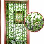 """Ресни за врата """"Зелени листа"""" 90x185см."""