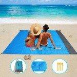 Водоустойчива постелка за плаж и пикник 140 х 200 см.