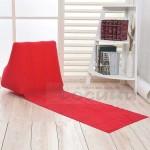 Постелка с надуваема триъгълна възглавница облегалка